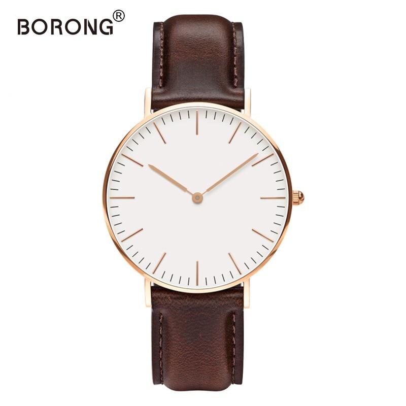 Luxury Brand Mens Steel Bracelet Quartz Watch Fashion Rose Gold Man dw Watch Style Men Dress Watch 40mm relogio feminino lg watch style w270 rose gold