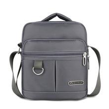 Men Multifunctional Handbag Shoulder Messenger Bag Satchel Business Nylon Crossbody Briefcases