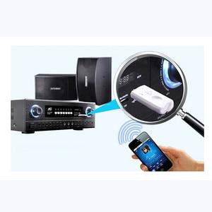 Image 4 - Usb bluetooth receptor de música estéreo sem fio adaptador de áudio dongle kit microfone embutido para alto falante para o telefone carro