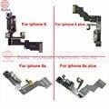 Для Apple Iphone 6 6 plus Light Proximity Sensor Flex Кабель Фронтальная Камера Лен Mic Ассамблею для Iphone 6 s 6 s плюс