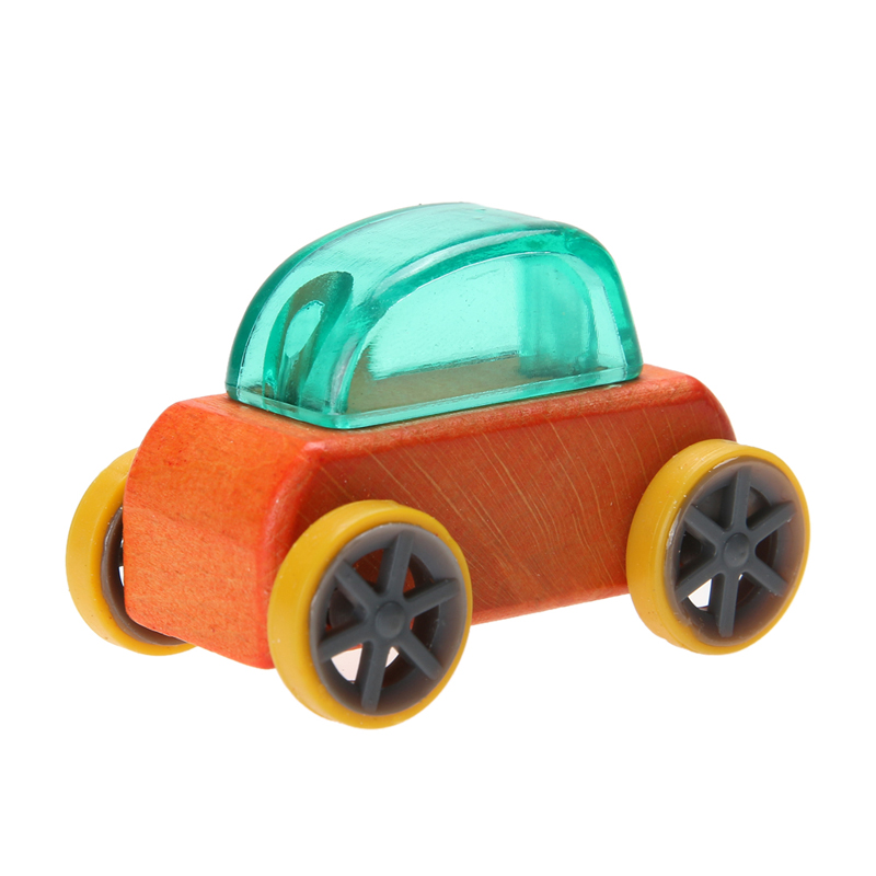 1:64 Candy Color Wooden Car Toy Mini Model CarDetachable Wooden Children Toys Cars Kids Educational Toy Color Random wooden color sand eggs a favorite of the kindergarten educational toys children toy toy