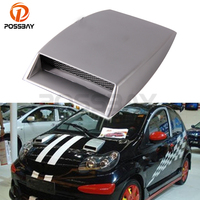 Air Flow Vent Hood Decoration Universal Vehicle Truck Auto SUV Car Side Decals Stickers Fender ABS