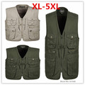 Big Size L-4XLMen's Autumn/Winter Cotton Warm Vest Men Casual Jackets Outerwear Coat Vest For Men