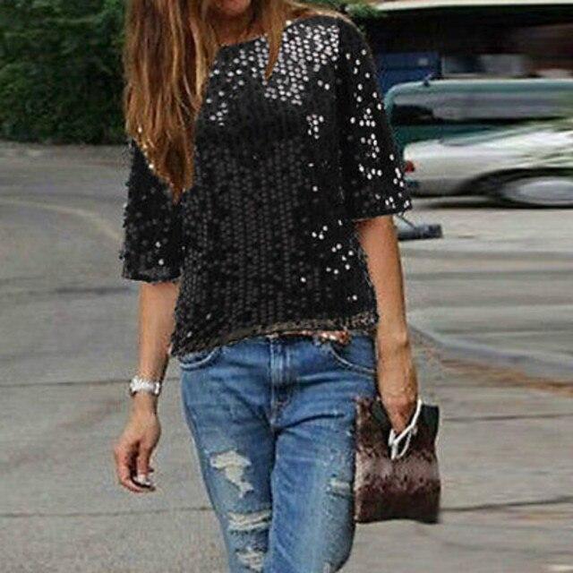 New Fashion Ladies elegant Silk blouses skew  collar  Half sleeve casual shirts casual slim brand tops