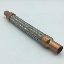 """3/4 """"wyplatane rurka ze stali nierdzewnej może zrekompensować małe rozszerzalności cieplnej rurociągów sprężarki rozładowania i ssania w Części osuszaczy powietrza od AGD na"""