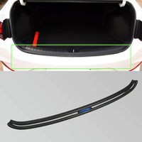 plastic rear bumper foot plate For Honda CRV 2018 car accessories outer