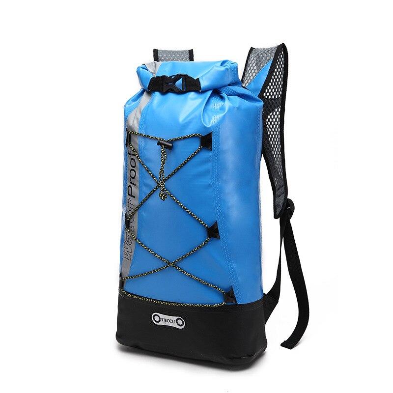 Sac imperméable de natation extérieure de 25L sac imperméable sec avec le crochet réglable de sangle pour la pêche de bateau Rafting FSTB25A
