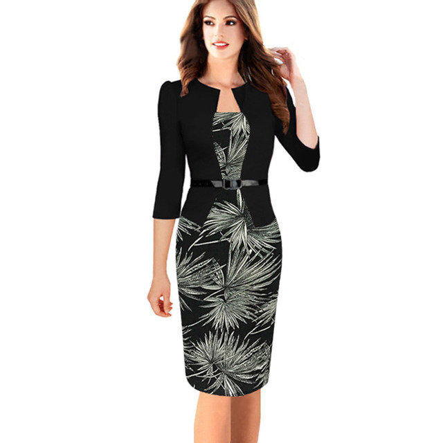 Women Autumn Dress Suits Female Elegant Full Sleeve Blazer Suits