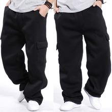 Осенне зимние штаны шаровары большого размера в стиле хип хоп