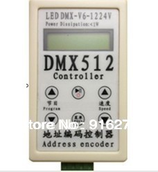 ФОТО Newest DC12-24V LED controller,stage lighting controller,address encoder with 90 changes,12 speed grade , free shipping
