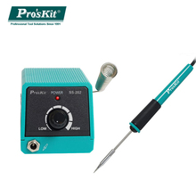 Proskit SS-202G professional Mini Soldering Station with slim soldering iron tips portable for and desoldering