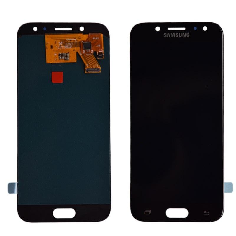 D'origine Super AMOLED lcd pour samsung Galaxy J5 Pro 2017 J530 J530F écran lcd ensemble numériseur à écran tactile lcd J5 Duos 2017