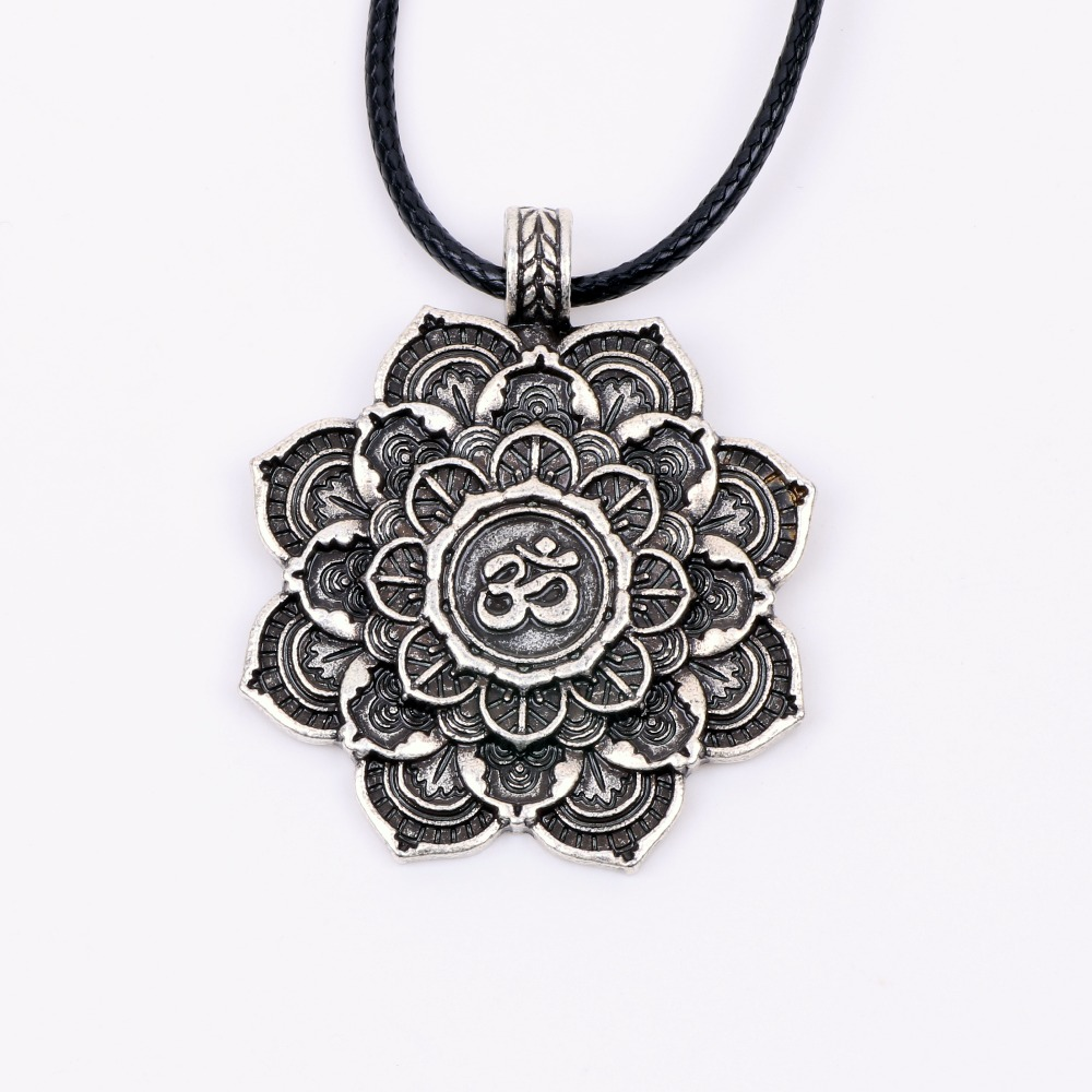spiritual om mandala salutations collier jewelry xml silver en love necklace to mantra pendant shiva