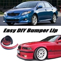 For TOYOTA Corolla Bumper Lip / Front Spoiler For Friends to Car Tuning / Body Kit / Strip Skirt