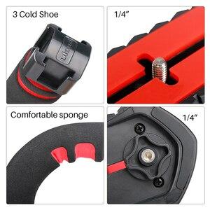 Image 5 - Ulanzi U Grip Pro Triple Schuh Montieren Video Stabilisator Griff Video Griff Kamera Telefon Video Rig Kit für Nikon canon iPhone X 8 7