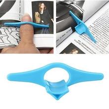 Polegar conveniente multifunction livro titular bookmark dedo anel marcadores de livro para livros papelaria glifts jsx ghmy