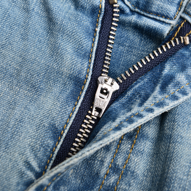 Jeans Printemps Denim lavé De Déchiré Europe Hommes Automne 2016 Jeunesse Pantalon Trous Mode L'eau Marque Célèbre BUqdYnI7w