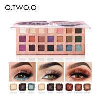 O.TWO.O Eyeshadow Palette Matte Shimmer Glitter Powder Professional Eyes Makeup Powder Pigmented Smoky Beauty Cosmetic Kit
