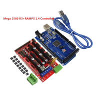 3D Printer Kit RAMPS 1 4 Controller Control Panel With For Arduino AtMega2560 ATmega Mega 2560