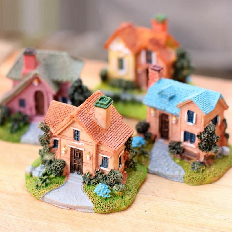 Miniature Dollhouse FAIRY GARDEN Accessories Fairy Villa