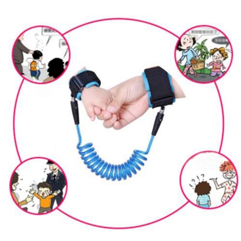 Walking Harness Adjustable Wrist Outdoor Wandelen Hand Leash Anti-lost Link Child Toddler Belt Assistant Baby Walker Wristband