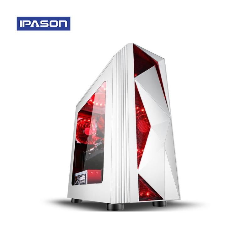 Gaming Desktop Computer IPASON A7 Power AMD 8 - Core Ryzen7 2700 DDR4 4G/8G RAM 120g SSD GXT1660 6G Barebone System Gaming PC