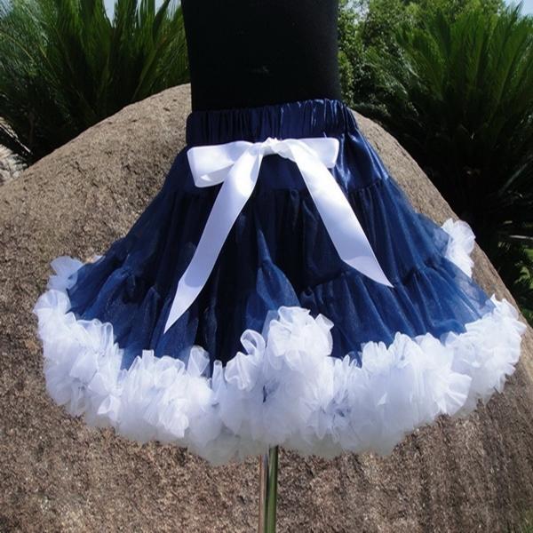 Crianças meninas crianças pettiskirt saia minissaia saia show de dança Ballet traje de tule PETS-107