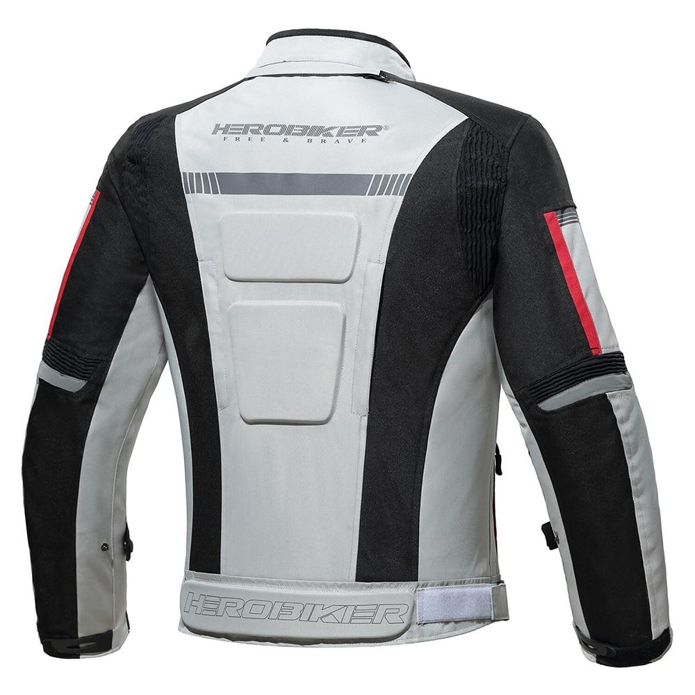 Herobiker Autumn Winter Motorcycle Jacket Men Waterproof Windproof