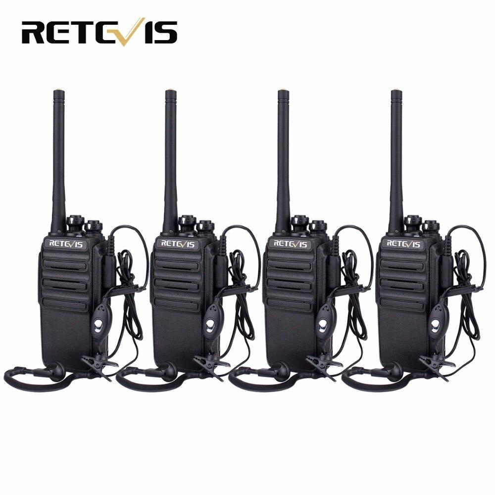 bilder für 4 STÜCKE Retevis RT24 Walkie Talkie 0,5 Watt PMR446 Entwicklungslizenzfreien VOX Scan Funkgeräte Communicator A9123