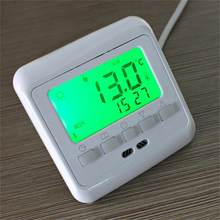 New Programmable Anti-Freezing Heating Thermostat LCD Room Temperature Controller Thermostat Overheat Protection Keypad Lock(China)