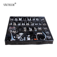 Best Price 32pcs Domestic Sewing Machine Presser Foot Feet Kit Set With Box For Brother Singer