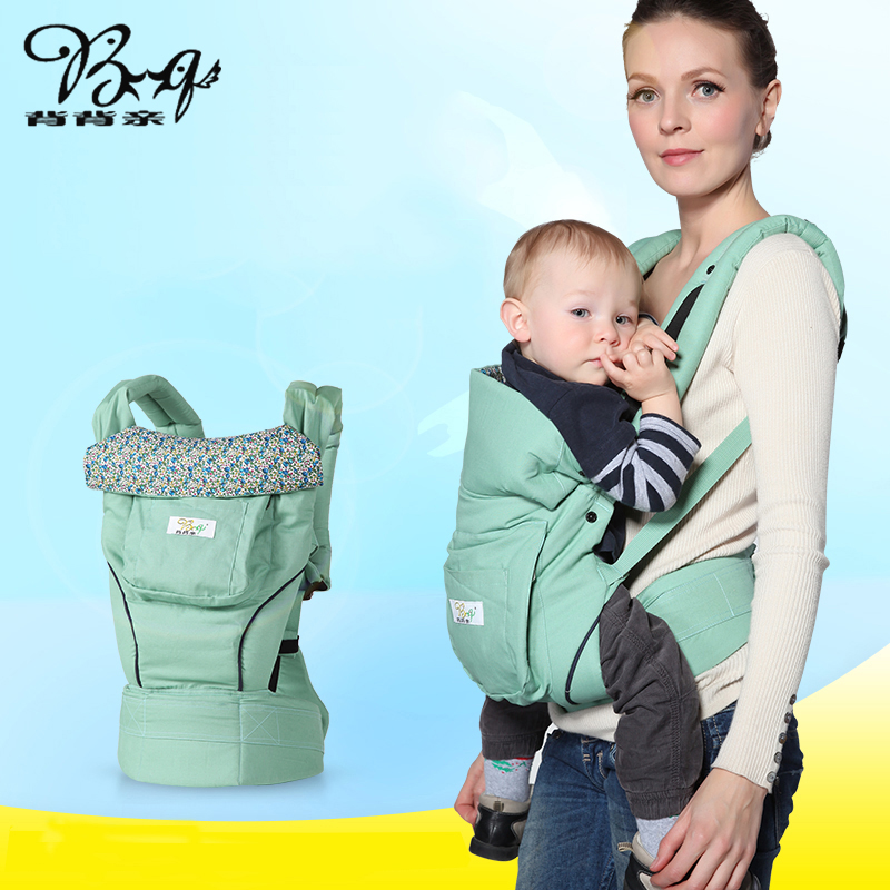 Bq (beibeiqin) High Quality Baby Carrier/Infant Carrier <font><b>Backpack</b></font> Kid Carriage Toddler Sling Wrap/Baby Suspenders/Baby Care -48