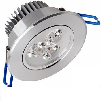 Pack of 20,Pocketman 220V 3W LED Recessed Ceiling Light Downlights Spotlight,Warm White,360-390 Lumen(Equivalent 30W)