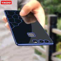 Huawei P9 Case Silicone Cover Original Yagoo Luxury TPU HuaweiP9 Case Ultra Thin Soft Back Cover