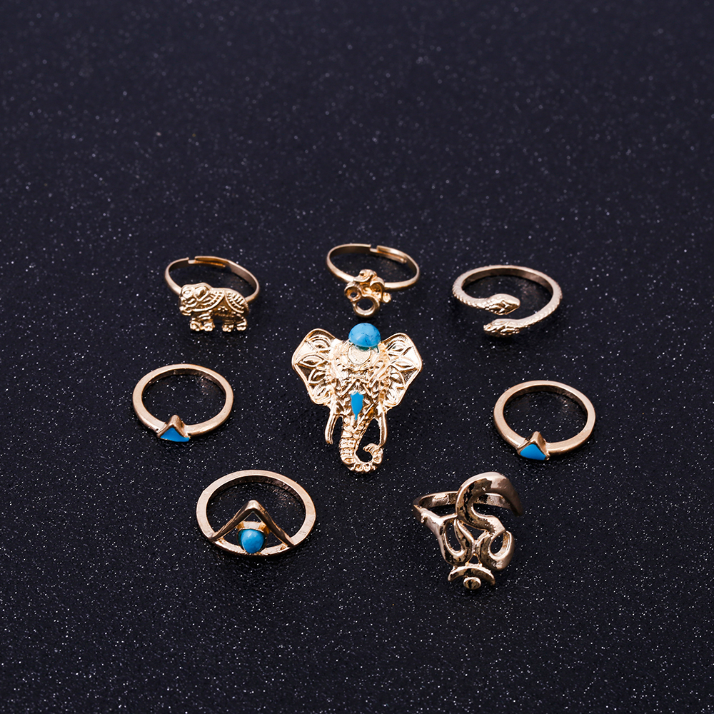 HTB18LrhRVXXXXcPXXXXq6xXFXXXI Fashionable 8-Pieces Boho Retro Spirituality Symbols Stackable Midi Ring Set