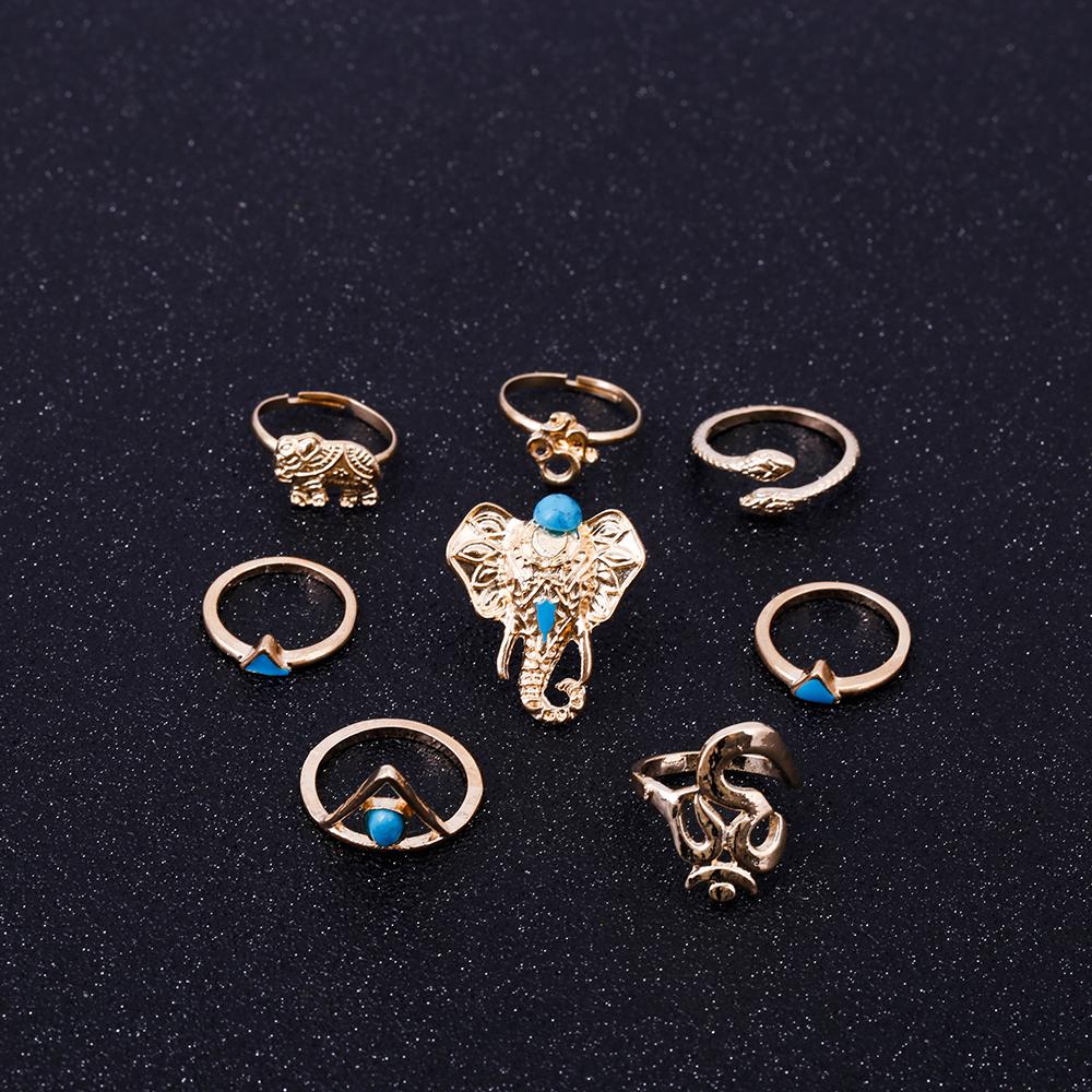 HTB18LrhRVXXXXcPXXXXq6xXFXXXI Fashionable 8-Pieces Boho Retro Spirituality Symbols Stackable Midi Ring Set