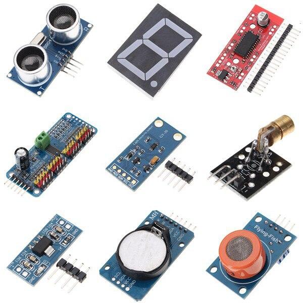 UNO Mega pour Nano capteur relais bluetooth Wifi LCD Kit de démarrage débutant pour Arduino - 5