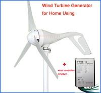 12 V 24 V Wind ladegerät controller + Wind generator 100 Watt Patentierte permanentmagnet 3 phase ac 12 V/24 V