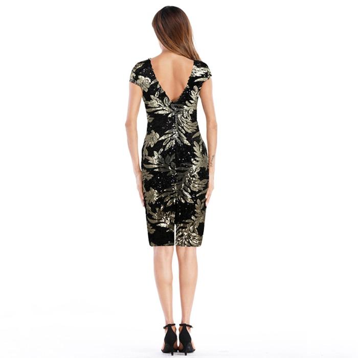 Great Gatsby Flapper Dress Sequins 14