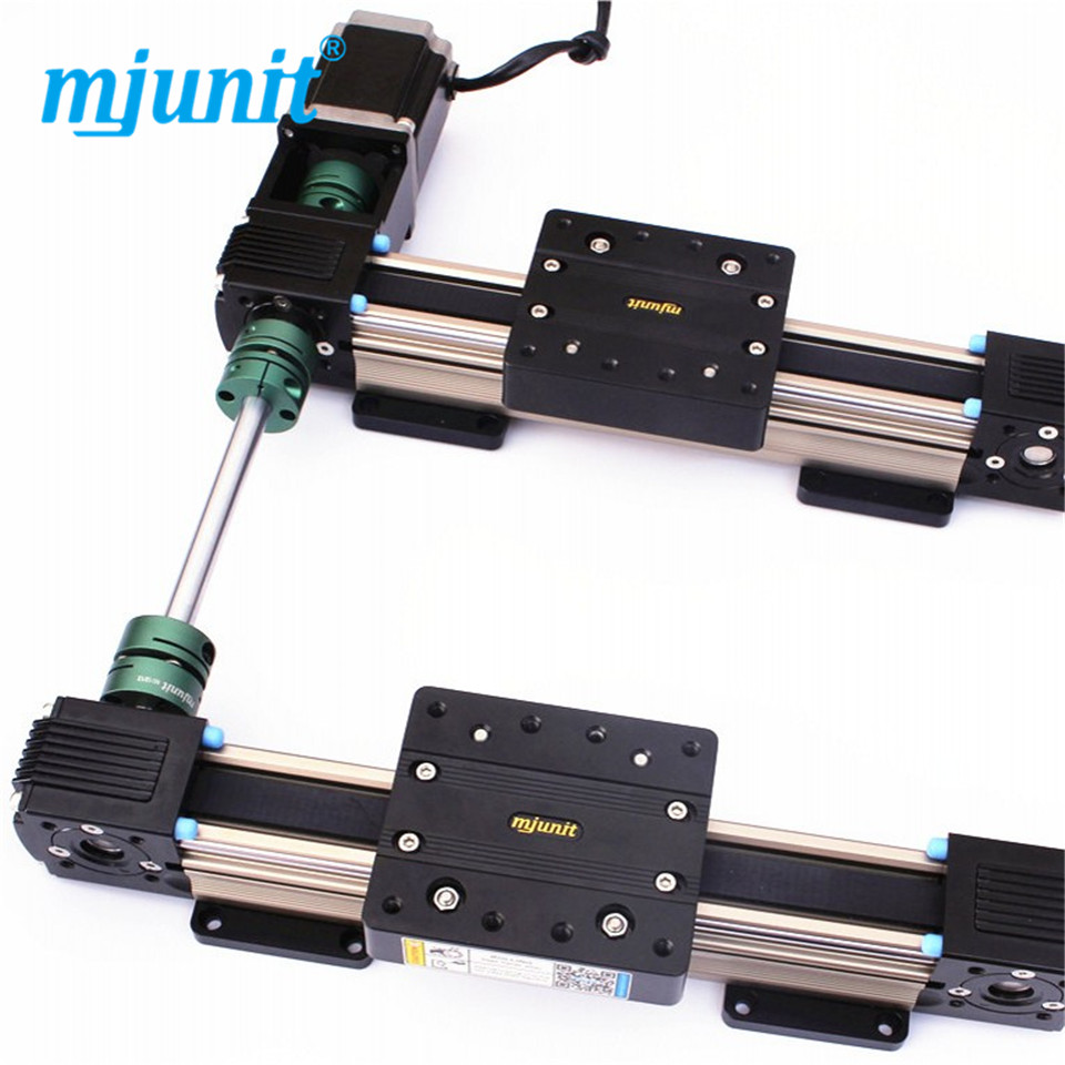 Mjunit MJ45 Precision XY Table , linear motion stage Linear Guide Rail