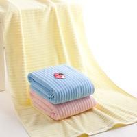 140x70cm Supersoft Microfiber Beach Towels Microfibre Bath Towel Sports Towel Gym Fast Drying Cloth Wavy Lines Pattern Towels