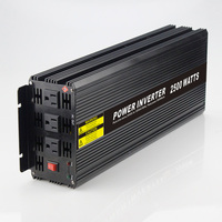 Real Power 2500W Car Power Inverter Converter DC 48V To AC 110V Or 220V Pure Sine