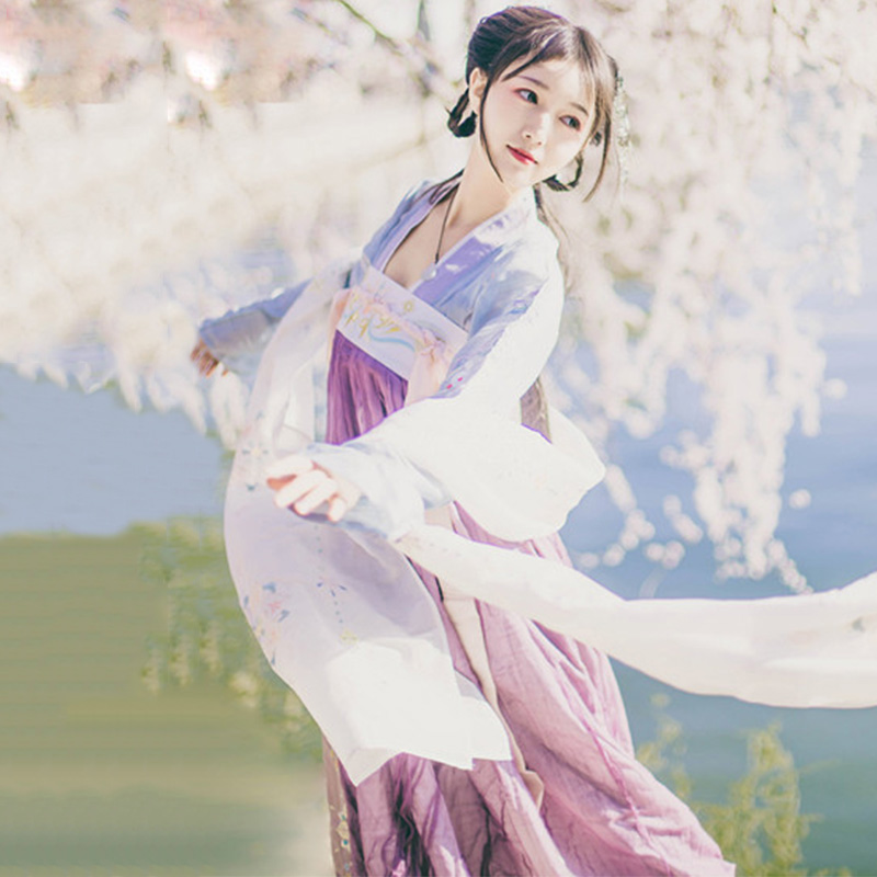 Costume de danse chinoise rouge Hanfu pour les femmes scène traditionnelle porter robe folklorique Performance orientale vêtements Festival tenue DC2348