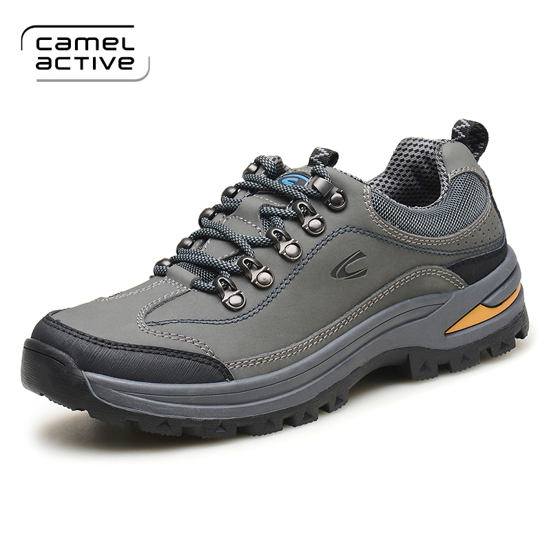 Camel Active New High Quality Brand Men Genuine leather Casual Shoes Breathable Spring Autumn Outdoor Lace-Up Men's Shoes недорго, оригинальная цена