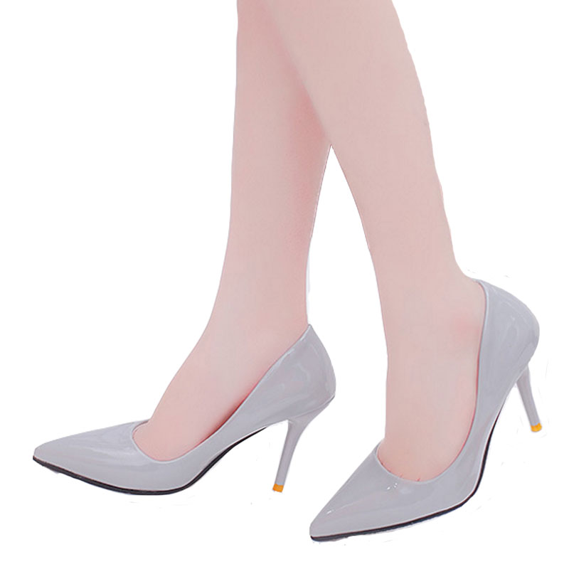 VTOTA Fashion Star Pumps Women Shoes High Heels Shoes Pointed Toe Solid Wedding Party Shoes Woman Thin Heels Slip On Shoes LS