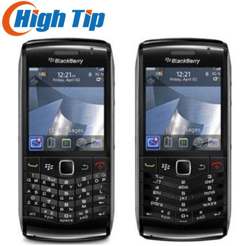 Reconditionné 9105 débloqué Original BlackBerry Pearl 9105 téléphone Mobile livraison gratuite