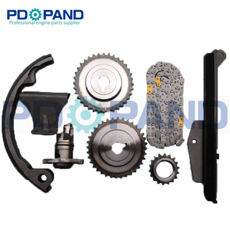 SR20DE SR20 Engine Timing Chain Gear Tensioner Kit for Nissan Sentra 200SX G20 NX U13 Sunny