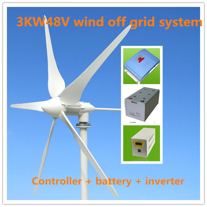 Detail Feedback Questions about 3kw wind turbine 3000W48V