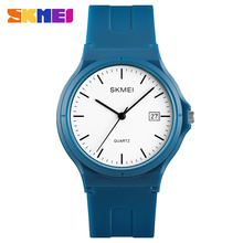 SKMEI Ladies 1449 Watch Women Fashion Casual Quartz Watches Waterproof PU Band Auto Date Calendar Wristwatches Relogio Feminino цена в Москве и Питере