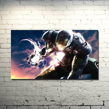 Iron Man 3 Science Fiction Movie Art Silk Poster Fabric 13×24 20×36 Inch  Picture For Room Decor (NEW)